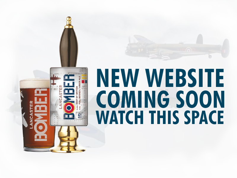 Lancaster Bomber Ale New Website Coming Soon